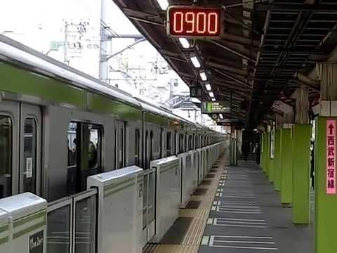 高田馬場駅1番線「鉄腕アトム」発車メロディ - YouTube