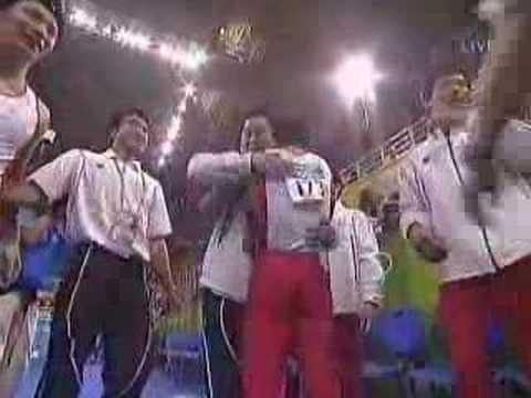 アテネオリンピック 日本体操男子団体 金メダル - YouTube