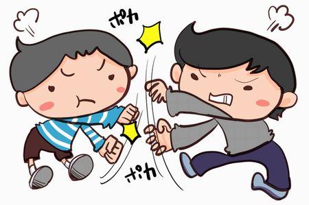 子供達の兄弟喧嘩
