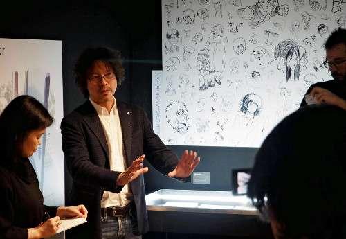 浦沢直樹さんパリで個展「日本漫画の突破口に」