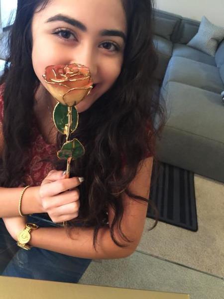 武田久美子、娘がもらった純金入りのバラ「こんなものは見た事も無い」