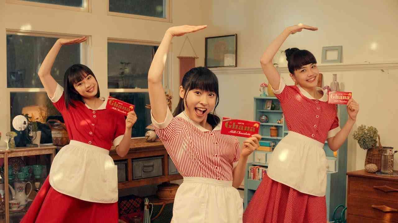 土屋太鳳、広瀬すず&松井愛莉とハイテンションのダンス披露 メーキング映像も公開 - YouTube