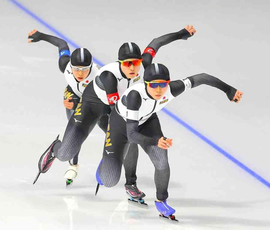 女子団体追い抜き、日本が金 姉妹出場の高木美は冬季1大会初の金銀銅メダル制覇 (スポーツ報知) - Yahoo!ニュース
