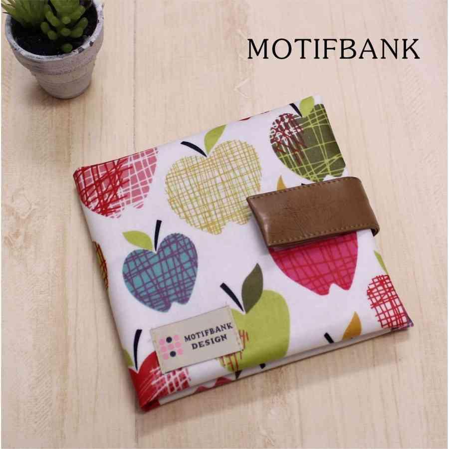 MOTIFBANK - 【ハンドメイド】 携帯用ボックスティッシュケース つや消しラミネート仕様 (りんご柄:大)|Yahoo!ショッピング
