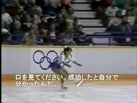 【字幕つき】 Midori Ito アメリカ実況 88五輪 (0:20~前の人の芸点に注目) - YouTube
