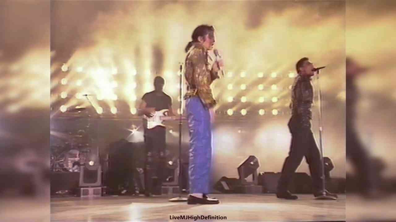 Michael Jackson - Workin' Day And Night - Live Bremen 1992 - HD - YouTube