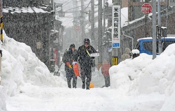 天気:日本海側中心に再び大雪 13日にかけて続く見込み|au Webポータル国内ニュース