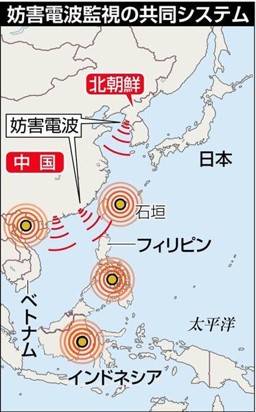 中朝の妨害電波共同監視 東南アジア3カ国 日本、装置配備へ - 産経ニュース