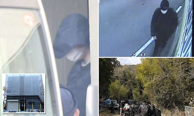 American man leads police to body parts of Japanese woman | Daily Mail Online