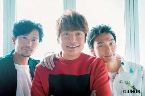 稲垣吾郎・草なぎ剛・香取慎吾、16年ぶりに『JUNON』再登場   ORICON NEWS