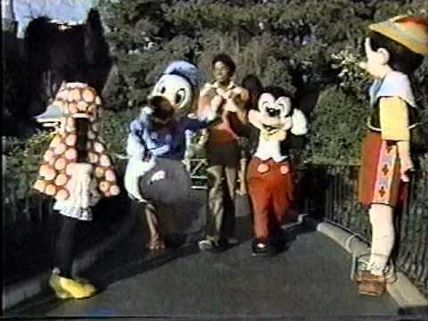 Michael Jackson - Disney Medley 25th Anniversary (1980) - YouTube
