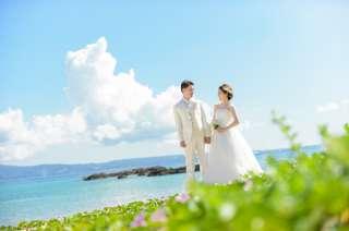 沖縄でフォトウエディング