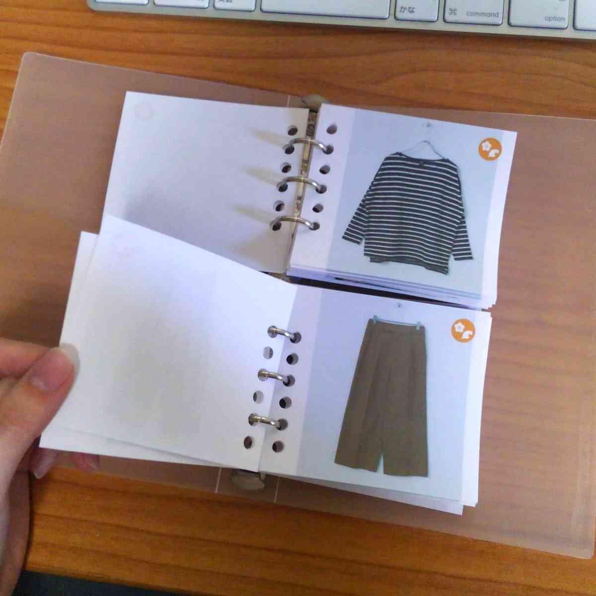 自分が持っている洋服を把握して整理できるアイデア「洋服カード」が話題