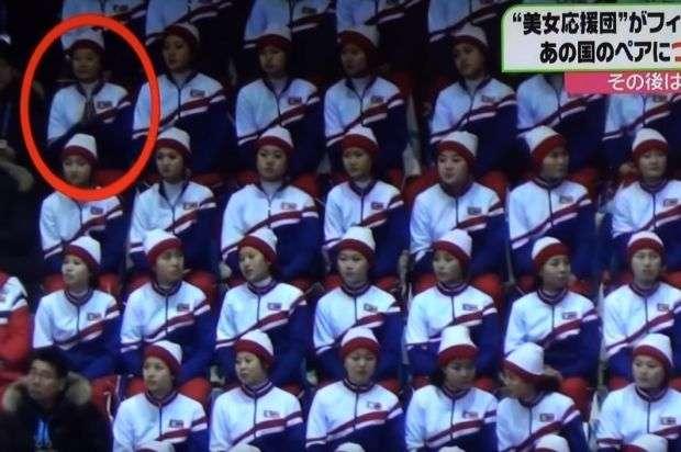 韓国人「日本メディア、北朝鮮応援団の一人が米国選手に拍手を送っているシーンをテレビで流してしまう」 : カイカイ反応通信