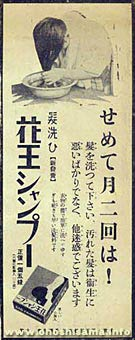 【画像】シャンプーの広告ひどすぎワロタwww | ソニック速報