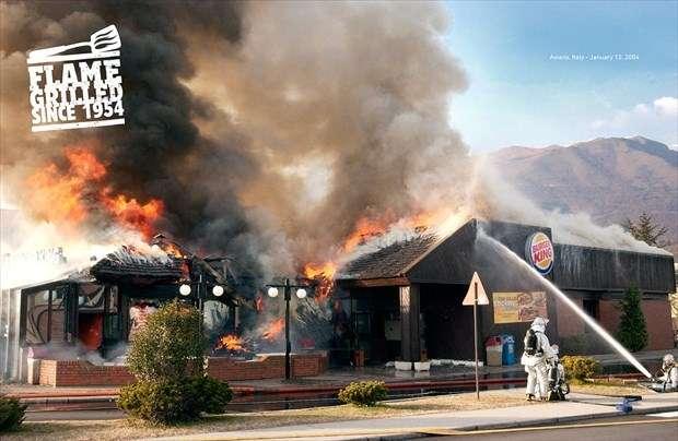 日本なら炎上確実⁉米バーガーキングの「広告の写真」がブッ飛んでると話題に