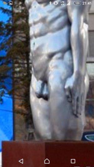"""【下ネタ注意?】平昌五輪メインプレスセンター前に""""謎のオブジェ"""""""