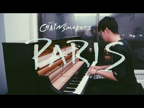 The Chainsmokers - Paris (Tony Ann Piano Cover) - YouTube
