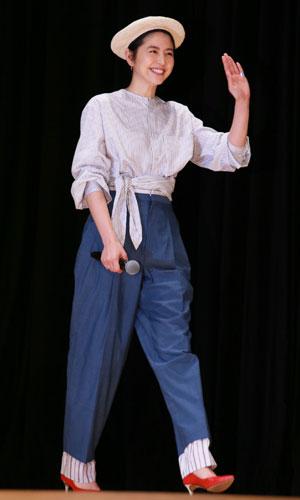 長澤まさみ、さわやかマリンルックで登場! | 映画/DVD/海外ドラマ | MOVIE Collection [ムビコレ]