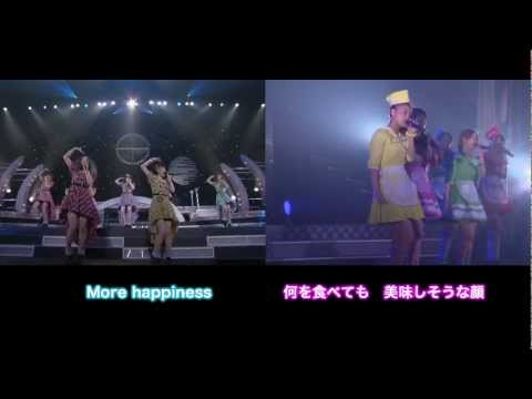 Berryz工房×℃-ute 『超HAPPY SONG』 (Double Screen Live Ver.) Music L/R - YouTube