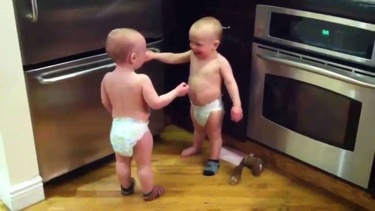 Talking Twin Babies - PART 2 - OFFICIAL VIDEO - YouTube
