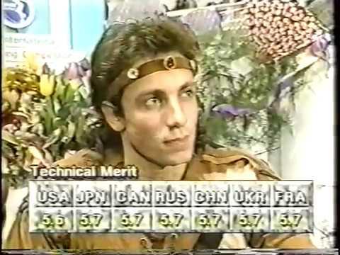 Philippe Candeloro FRA - 1992 NHK Trophy LP - YouTube