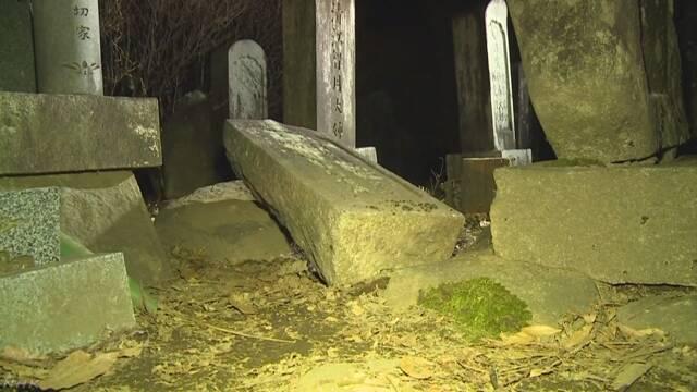 墓石の下敷きになった4歳の保育園児が死亡 長野 | NHKニュース