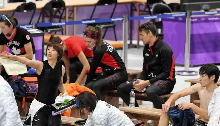 無風のハズが…スピードスケートリンクに謎の風 日本代表の師円が証言 (デイリースポーツ) - Yahoo!ニュース
