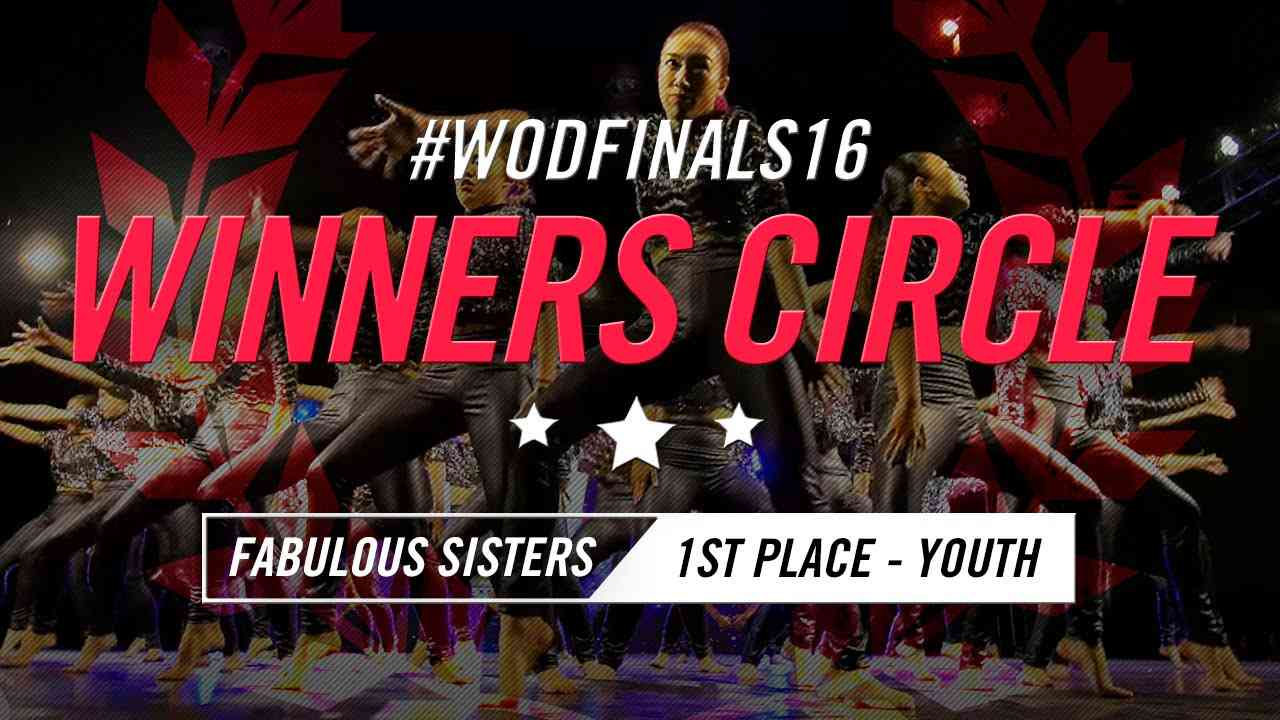 Fabulous Sisters | Winners Circle (1st Place Youth) | World of Dance Finals 2016 | #WODFinals16 - YouTube