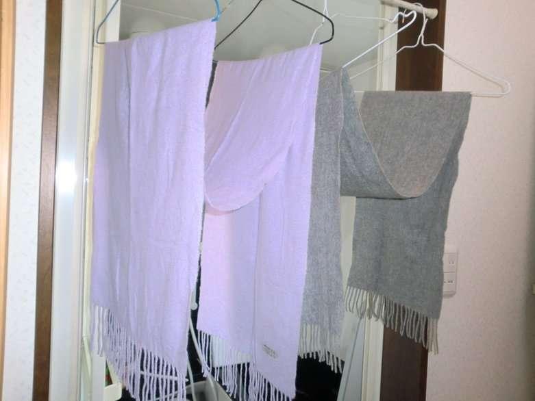 マフラー、ストールの洗濯頻度について