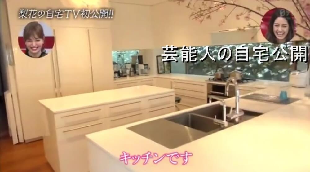 梨花、自宅のクローゼットルーム公開「意外とスカスカ」