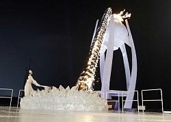 平昌五輪最終聖火ランナーはキム・ヨナさん 特設リンクで華麗に舞う― スポニチ Sponichi Annex スポーツ