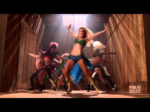 "GLEE - Brittany as Britney Spears - I'm a Slave 4 U - S02E02: ""Britney/Brittany"" [HD] - YouTube"