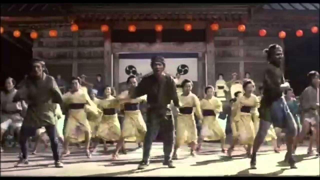 座頭市タップダンス - YouTube