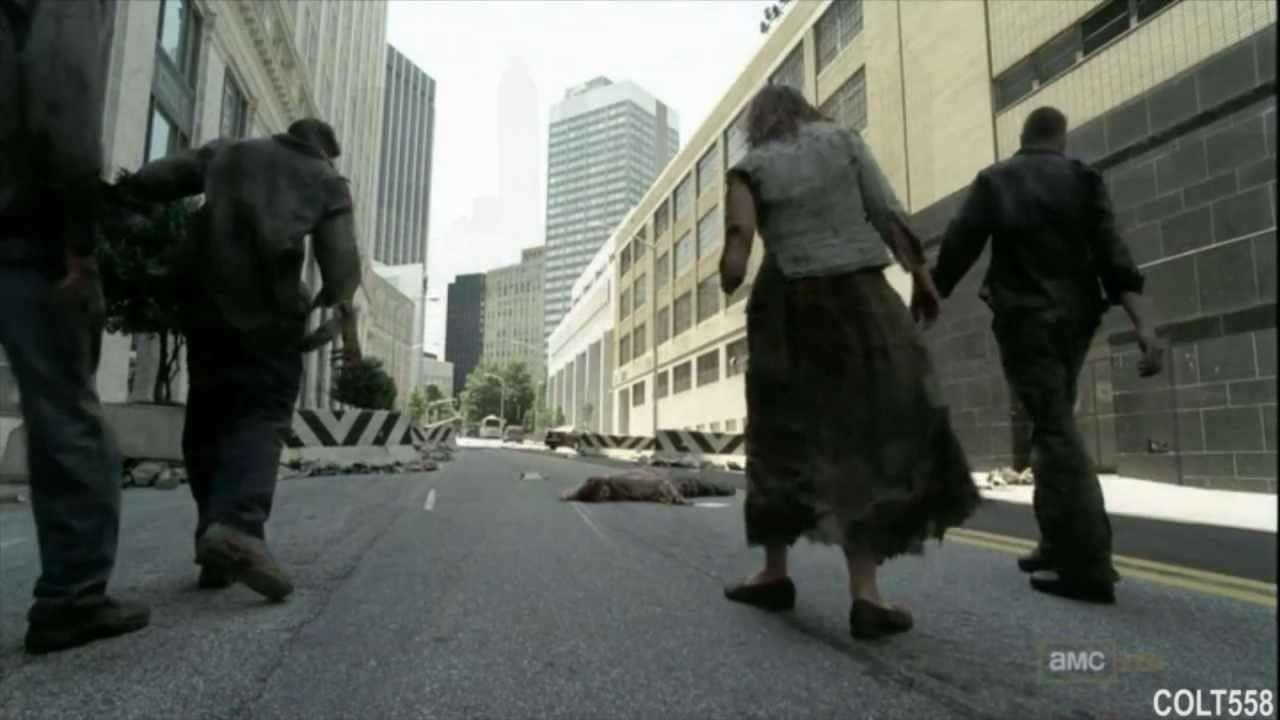 The Walking Dead Dallas Intro - YouTube