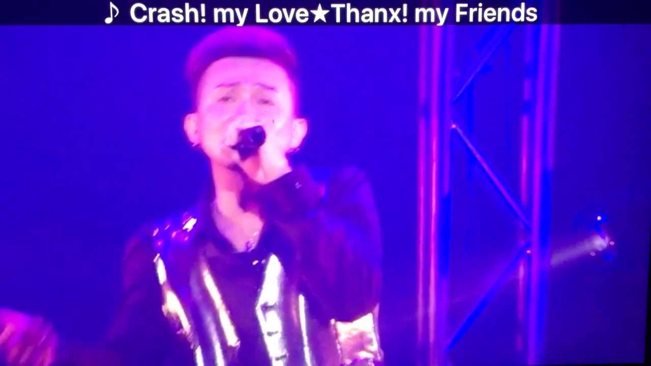 LIVE DA PUMP RED〜matchless〜 09.Crash! my Love★Thanx! my Friends - YouTube