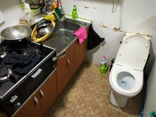 どうして韓国ではトイレがキッチンにあるの???|カイカイch - 日韓交流掲示板サイト