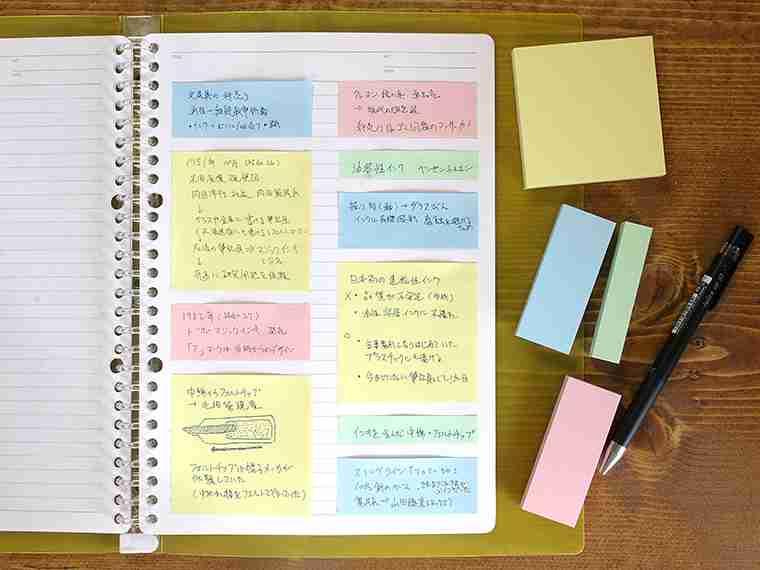 ノートの活用法