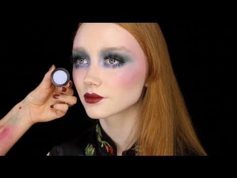 Vintage 70's/30's style Make-up - YouTube