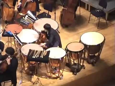 Maurizio Kagel - Concert piece for timpani and orchestra - YouTube