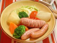 ソーセージと野菜のポトフ | サントリー レシピッタ - あなたにぴったり、お酒に合うかんたんレシピ