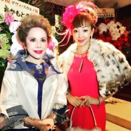 神田うの、デヴィ夫人78歳の誕生日パーティーに出席「120歳目指せると本気で思う」