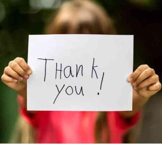 感謝の伝え方