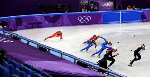 平昌五輪のスケート北朝鮮選手が救急搬送、関係者は取材に応じず