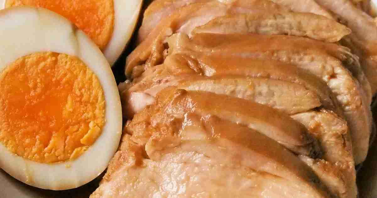 5分で簡単!胸肉やわらか鶏チャーシュー✿ by emyo 【クックパッド】 簡単おいしいみんなのレシピが283万品