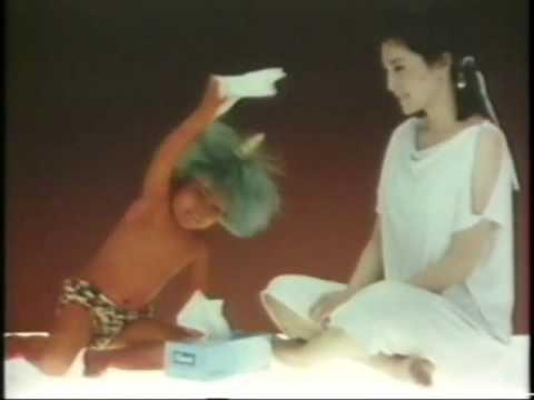 1985 クリネックス ティシュー - YouTube