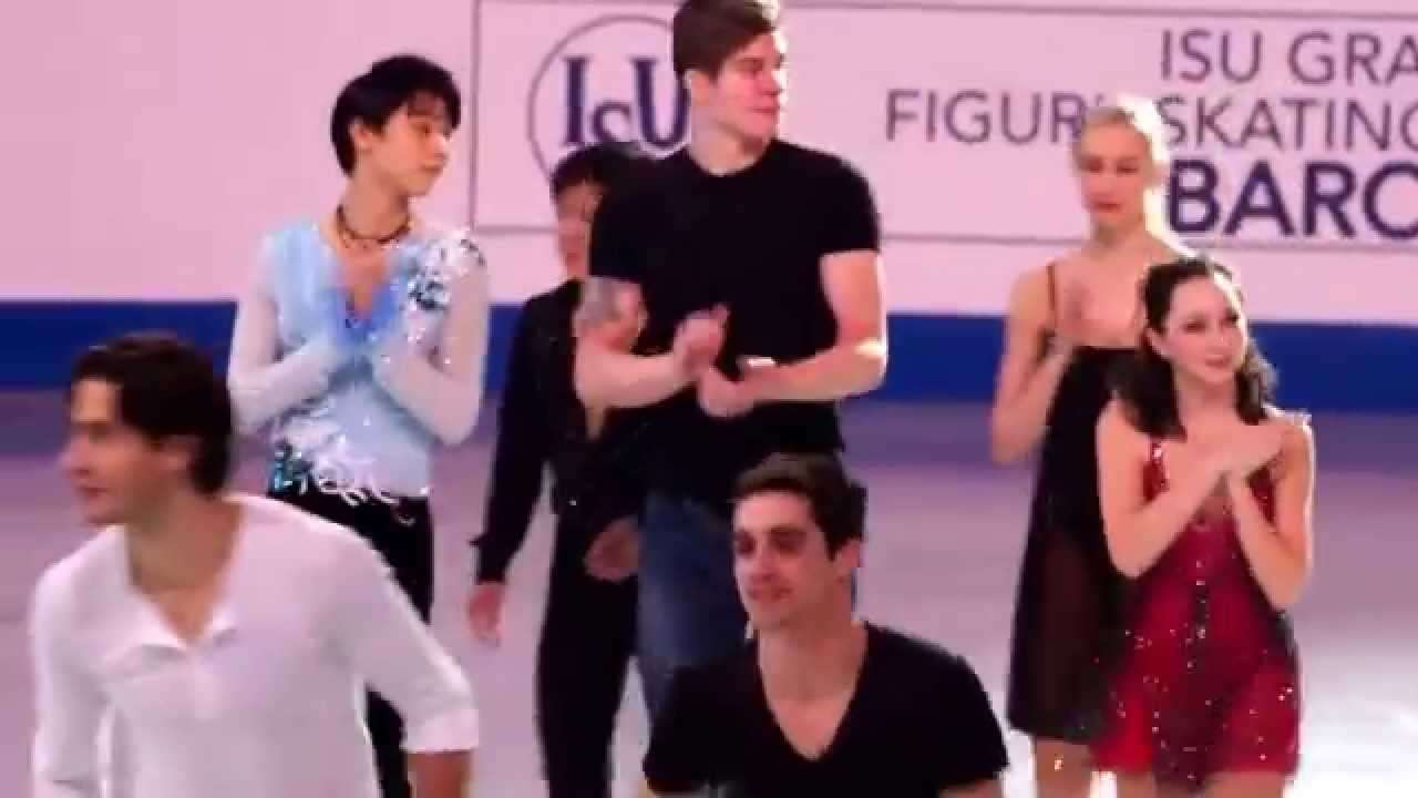 GPF2014 Gala finale Yuzuru Hanyu Shoma Uno Javier Fernandez - YouTube