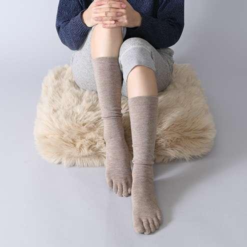 五本指靴下愛用者