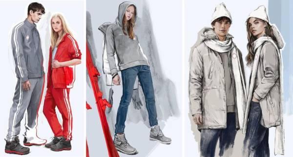 平昌オリンピック各国ファッションショー