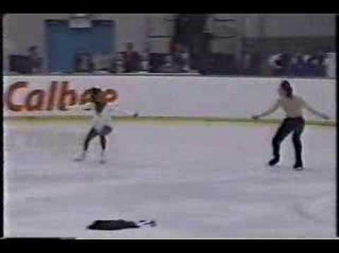 Bonaly and Candeloro 1994 NHK Trophy - YouTube